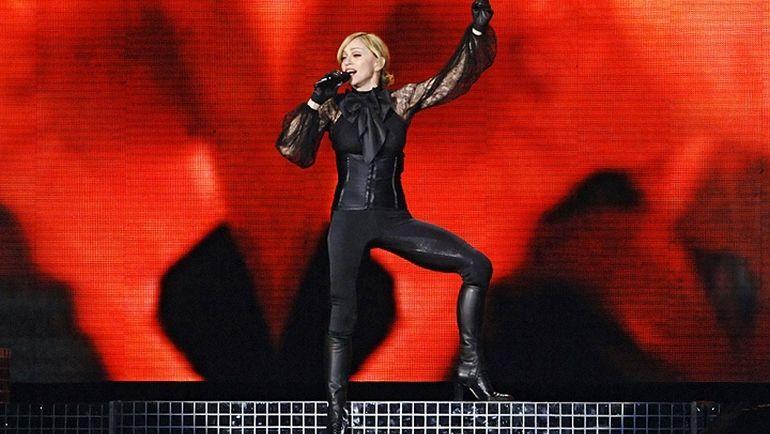 14 сентября 2006 года. Москва. Концерт Мадонны. Фото REUTERS