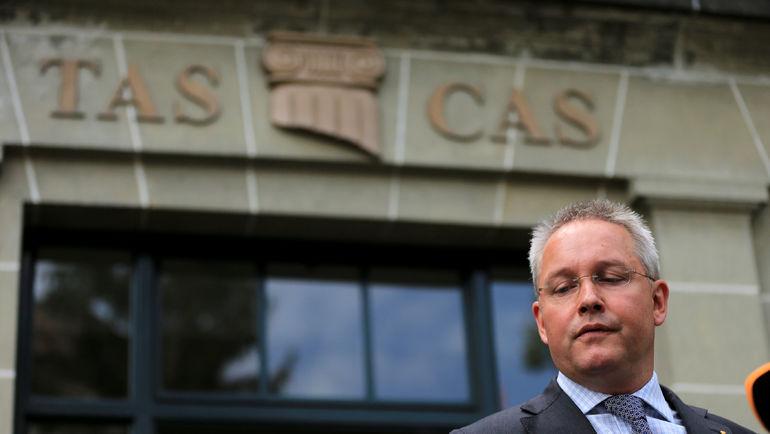 Генеральный секретарь Спортивного арбитражного суда (CAS) Матье РИБ. Фото REUTERS