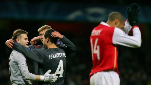 Последний сухой матч Акинфеева  в Лиге чемпионов