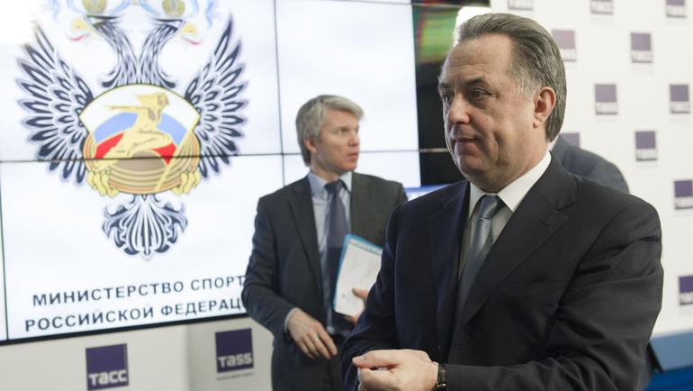 """Виталий МУТКО (справа) и Павел КОЛОБКОВ. Фото Федор УСПЕНСКИЙ, """"СЭ"""""""