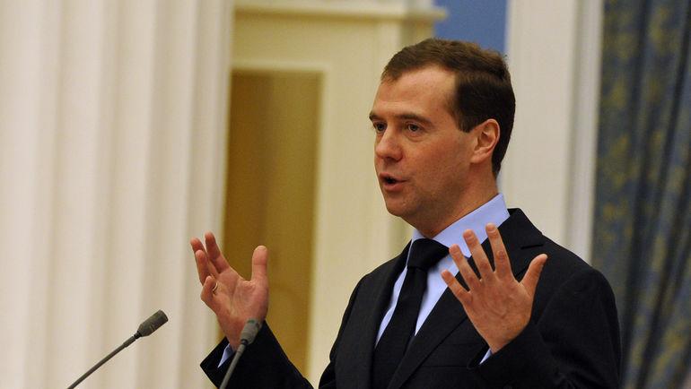 """Дмитрий МЕДВЕДЕВ. Фото Александр ФЕДОРОВ, """"СЭ"""""""