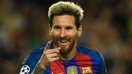 "Среда. Барселона. ""Барселона"" - ""Манчестер Сити"" – 4:0. Автор хет-трика Лионель МЕССИ."