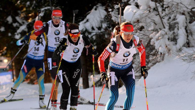 Дарья ВИРОЛАЙНЕН (№11) предпочитает контактные гонки. Фото AFP