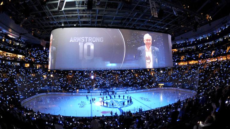Арена Air Canada в Торонто, где в этом году прошли матчи Кубка мира. Фото USA Today