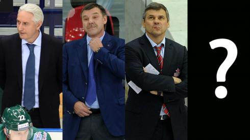 10 лучших тренеров КХЛ  в настоящее время
