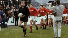 25 июля 1966 года. Ливерпуль. Чемпионат мира. СССР - ФРГ. Лев ЯШИН.