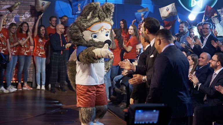 Волк Забивака - талисман чемпионата мира-2018. Фото fifa.com.