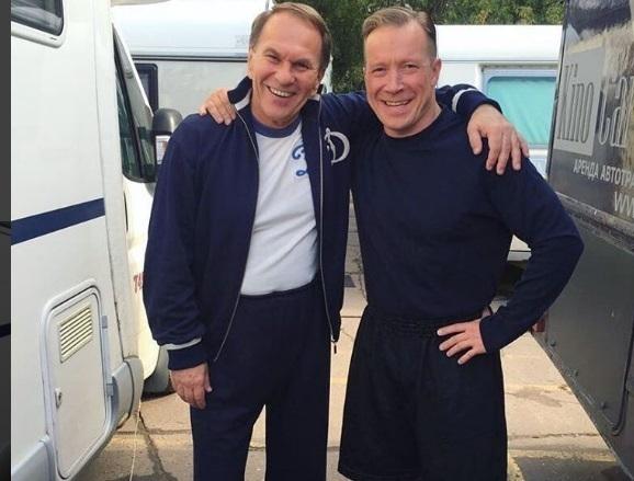 Актеры Алексей ГУСЬКОВ (слева) и Алексей КРАВЧЕНКО. Фото Фото - Instagram