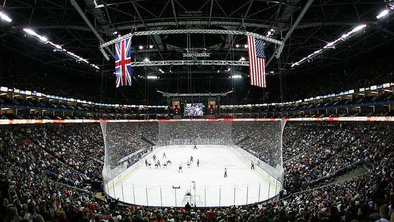 """2007 год. Лондон. """"Лос-Анджелес"""" - """"Анахайм"""" - 1:4. НХЛ неоднократно проводила в Лондоне выставочные матчи, а в 2007-м организовала на """"O2 Арене"""" две встречи регулярного чемпионата. Не исключено, вскоре в столице Великобритании появится клуб КХЛ. Фото REUTERS"""