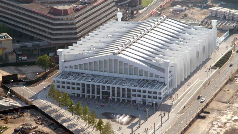 """Арена """"Уэмбли"""", располагающаяся рядом со знаменитым футбольным стадионом, является наиболее вероятным местом проведения матчей будущей лондонской хоккейной команды. Фото AFP"""