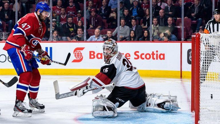 """Нападающий """"Монреаля"""" Александр РАДУЛОВ пока нечасто расстраивает вратарей НХЛ. Фото AFP"""