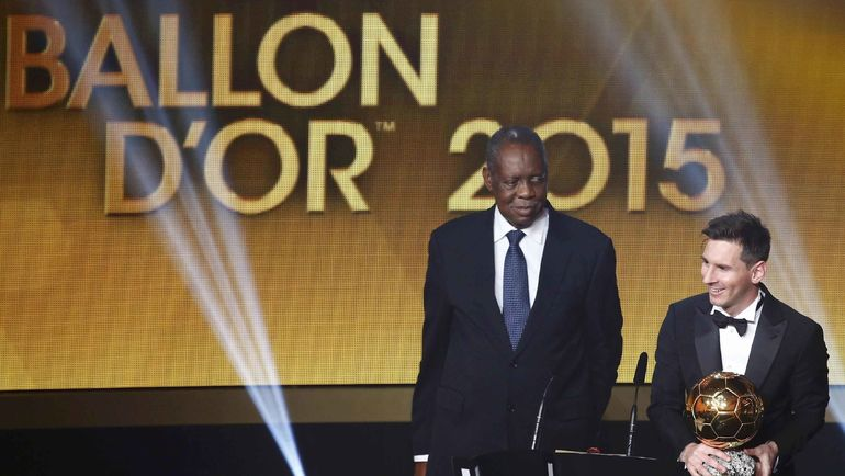 """С 2010 по 2015 год призы """"Золотой мяч"""" и """"Лучший игрок года ФИФА"""" объединялись в одну награду. Фото REUTERS"""