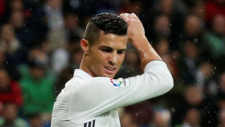 """Воскресенье. Мадрид. """"Реал"""" - """"Атлетик"""" - 2:1. Эмоции КРИШТИАНУ РОНАЛДУ. Фото Reuters"""