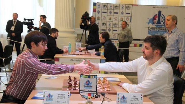 В Новосибирске состоялся восьмой тур Суперфиналов чемпионатов России среди мужчин и женщин.