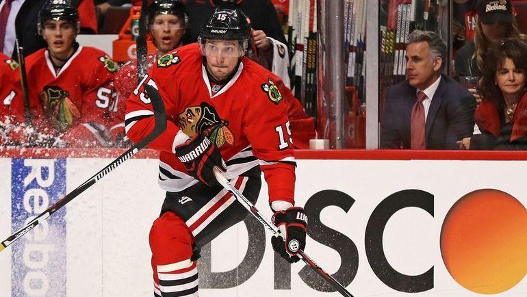 Лучший бомбардир НХЛ Артем АНИСИМОВ. Фото AFP