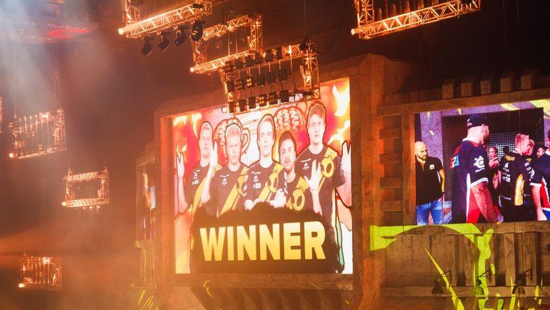Приветствуем победителя. Фото media.epicenter.gg