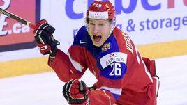 Егор КОРШКОВ в составе молодежной сборной России.