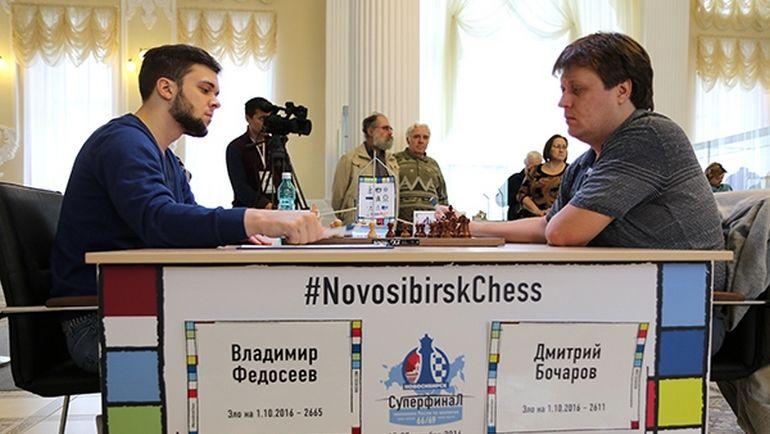 Владимир ФЕДОСЕЕВ (слева) и Дмитрий БОЧАРОВ.