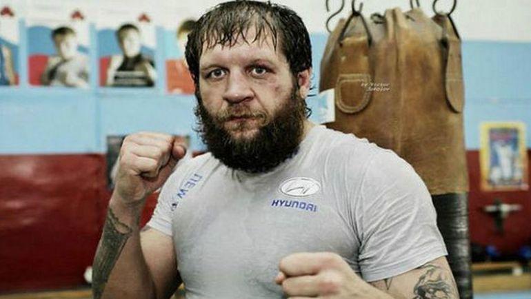 Александр ЕМЕЛЬЯНЕНКО. Фото cagepotato.com