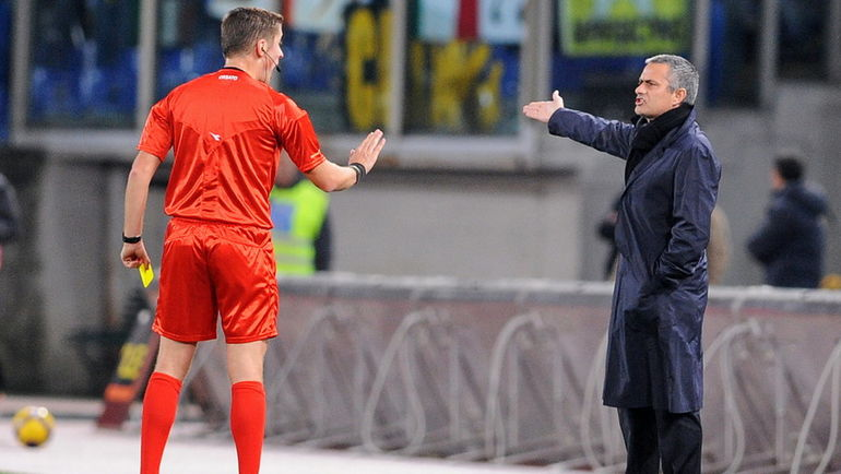 Даниэле ОРСАТО и Жозе МОУРИНЬЮ. Фото AFP