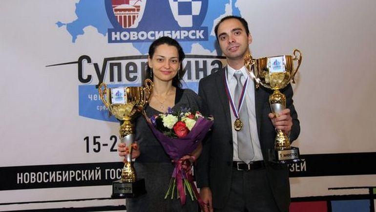 Александра КОСТЕНЮК и Александр РЯЗАНЦЕВ. Фото Владимир БАРСКИЙ