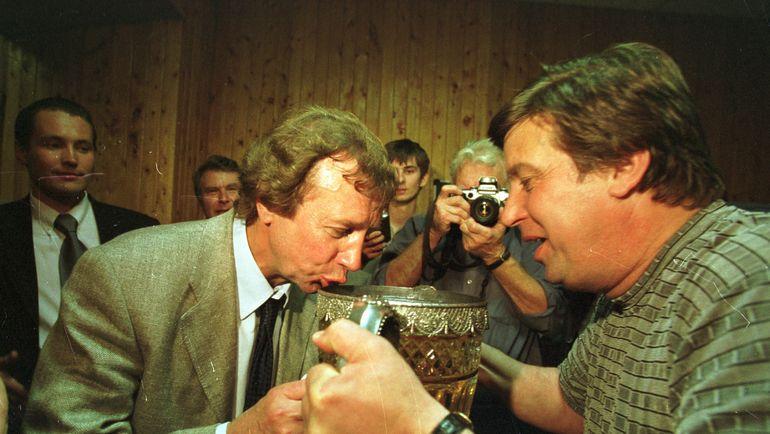 "Юрий СЕМИН и Валерий ФИЛАТОВ. Фото Александр ФЕДОРОВ, ""СЭ"""
