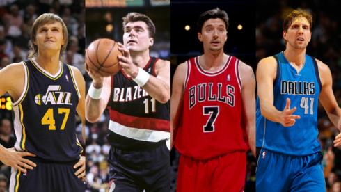 15 лет дебюту Кириленко в НБА. 10 лучших европейцев за океаном