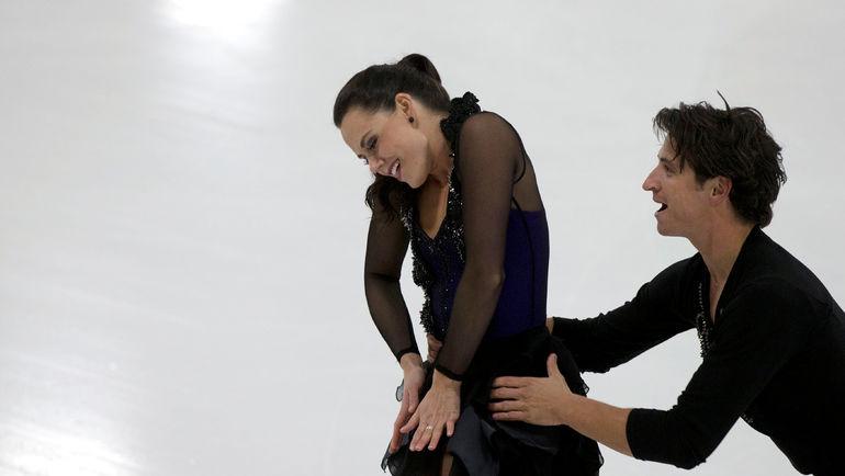 Тесса ВИРЧУ и Скотт МОИРА. Фото REUTERS
