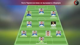 Кого Станислав Черчесов пока не вызывал в сборную.