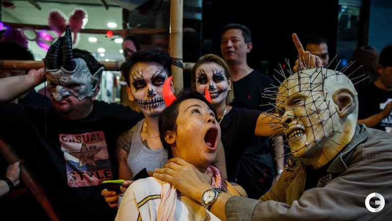 Понедельник. Гонконг. Хэллоуин.
