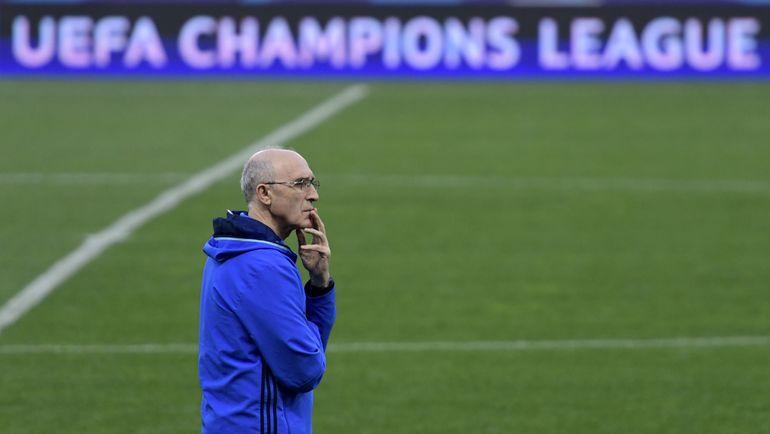 Иван ДАНИЛЬЯНЦ на тренировке в Мадриде. Фото AFP