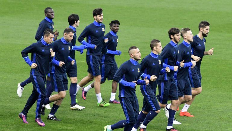 """Тренировка """"Ростова"""" в Мадриде. Фото AFP"""