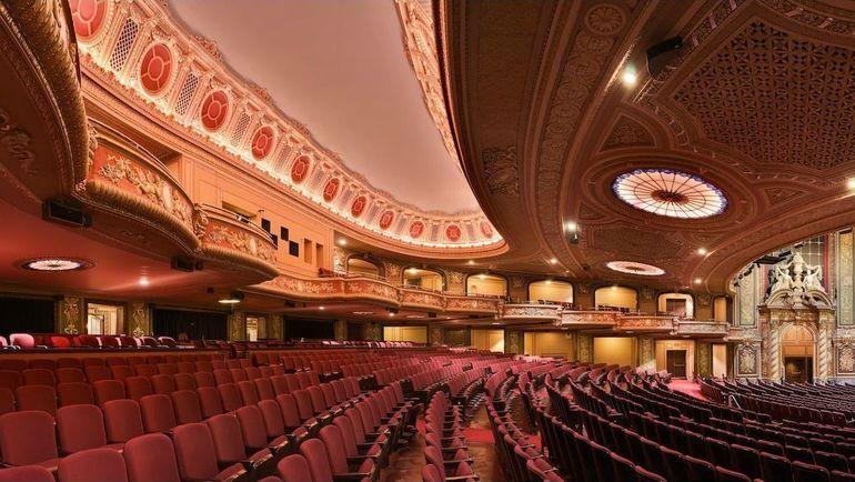Зал Wang Theatre - место проведения The Boston Major. Фото dota.reactor.cc