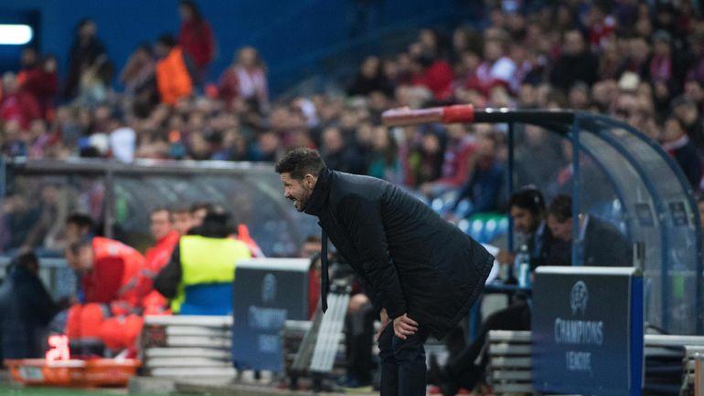 """Вчера. Мадрид. """"Атлетико"""" - """"Ростов"""" - 2:1. Диего СИМЕОНЕ. Фото AFP"""