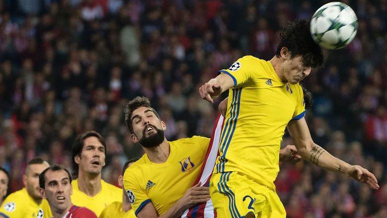"""В Мадриде """"Ростов"""" выглядел гораздо лучше, чем в первом поединке с """"Атлетико"""". Фото AFP"""