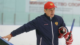 Главный тренер молодежной сборной России Валерий БРАГИН.