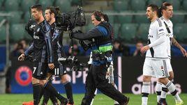 """Среда. Варшава. """"Легия"""" – """"Реал"""" – 3:3. Команды забили шесть мячей на двоих в матче, который проходил без зрителей."""