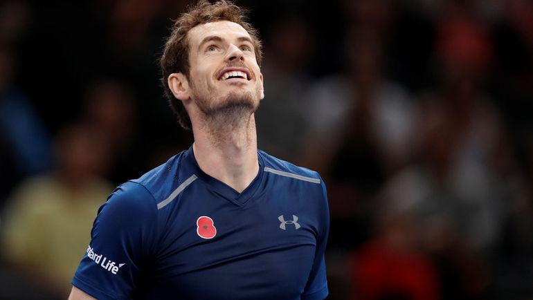Энди МАРРЭЙ со следующей недели впервые возглавит рейтинг ATP. Фото REUTERS