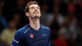 Энди МАРРЭЙ со следующей недели впервые возглавит рейтинг ATP.