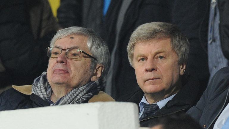 Анатолий ВОРОБЬЕВ и Николай ТОЛСТЫХ. Фото Александр ФЕДОРОВ, «СЭ»