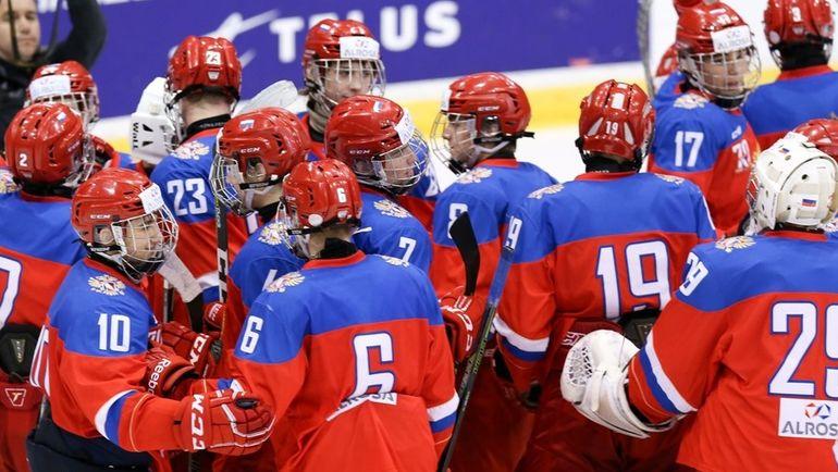 Сборная России U-17 стала бронзовым призером Кубка вызова. Фото ФХР