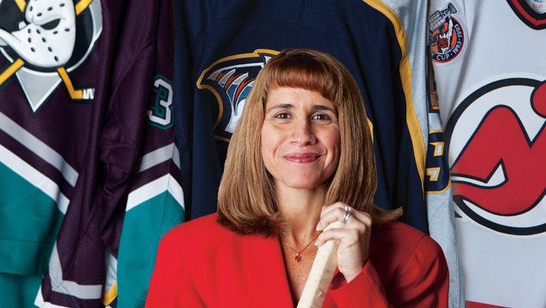 Анжела ГОРГОНЕ. Фото The Hockey News