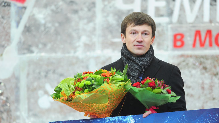 Кумир Антона Бабикова Максим ЧУДОВ. Фото Антон СЕРГИЕНКО