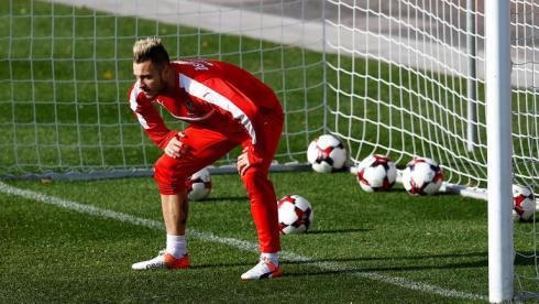 Нападающий Арнаутович в воротах сборной Австрии