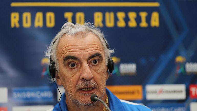 Главный тренер сборной Катара Даниэль ФОССАТИ. Фото REUTERS