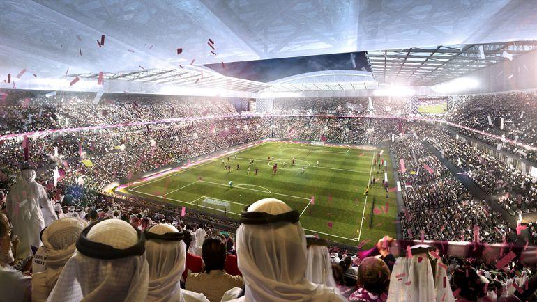 Макет одного из будущих стадионов Катара. Фото REUTERS