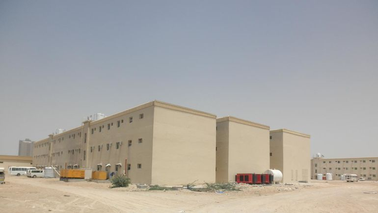 Doha industrial area.