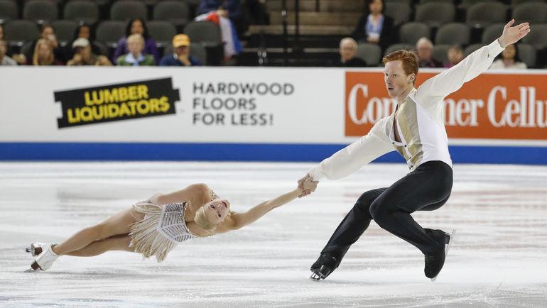 Евгения ТАРАСОВА и Владимир МОРОЗОВ. Фото USA Today