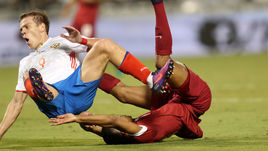 Сегодня. Доха. Катар – Россия – 2:1. Падение Александра КОКОРИНА.