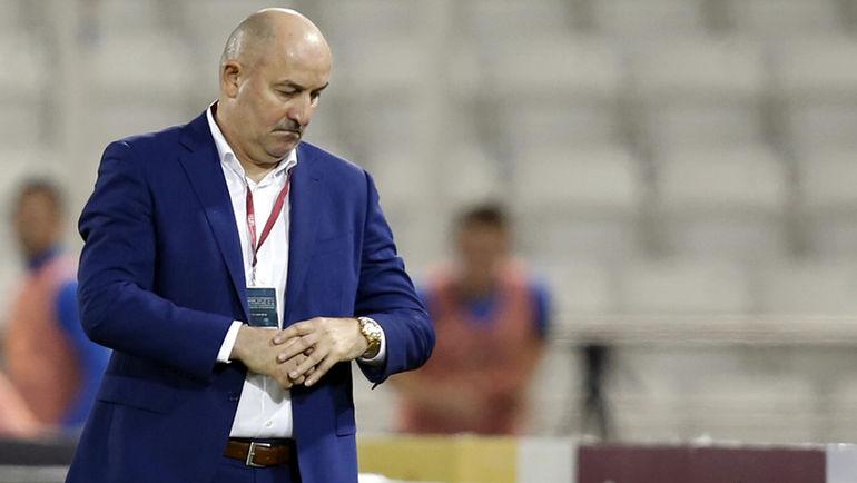 Сегодня. Доха. Катар - Россия - 2:1. Станислав ЧЕРЧЕСОВ. Фото AFP
